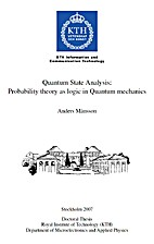 Quantum State Analysis: Probability theory…