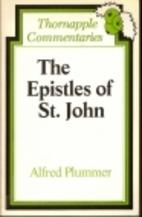 Epistles of st John by Alfred Plummer