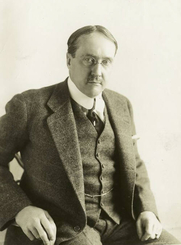 Author photo. Credit: Underwood & Underwood<br>Courtesy of the <a href=&quot;http://digitalgallery.nypl.org/nypldigital/id?98907&quot;>NYPL Digital Gallery</a><br>(image use requires permission from the New York Public Library)