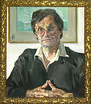 Author photo. Wladimir Aichelburg, Gemälde von Christoph Wetzel, Dresden 1997 (Credit @ wladimir-aichelburg.at)