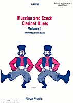 Russioan and Czech clarinet duets volume I…