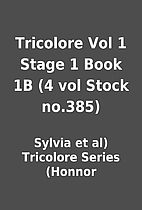 Tricolore Vol 1 Stage 1 Book 1B (4 vol Stock…