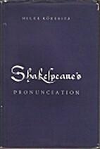 Shakespeare's pronunciation by Helge…