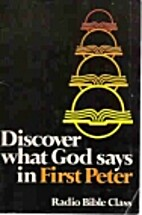 Discover what God says in First Peter by…