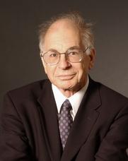 Author photo. Prof. Daniel Kahneman. Photo credit: Denise Applewhite (photo courtesy of Princeton University)