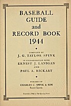 Baseball guide and record book