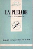La Pléiade by Yvonne Bellenger