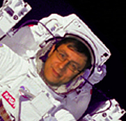 Author photo. My dream! The first free-floating EVA was actually carried out on my birthday :)