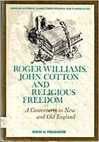 Roger Williams, John Cotton, and religious…