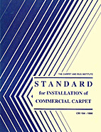 The Carpet and Rug Institute Standard for…