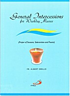 General Intercessions for weekday Masses…