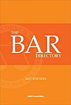 The Bar Directory: 2017 Edition by The Bar…