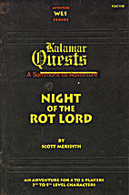 Night of the Rot Lord (Kalamar Quest) by…