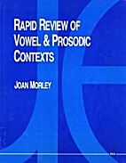Rapid Review of Vowel and Prosodic Contexts…