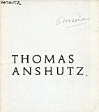 Thomas Anshutz by Graham Gallery