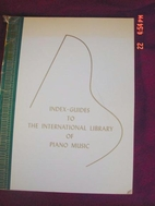 The International Library of Piano Music by…