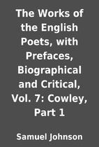 The Works of the English Poets, with…