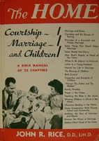 Home: Courtship, Marriage and Children : A…