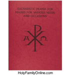 Eucharistic Prayers for Masses for Various…