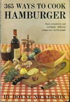 365 Ways to Cook Hamburger by Doyne…