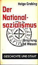 Der Nationalsozialismus - Ursprung und Wesen…