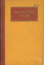 Southern writing, 1585-1920 by Richard Beale…