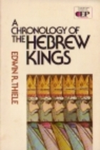 Chronology of the Hebrew Kings (Contemporary…