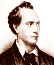Author photo. 1860 lithograph from an 1820s drawing by A. Lebedev.