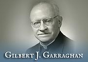 Author photo. Gilbert J. Garraghan, S. J.