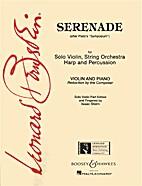 Serenade (After Plato's Symposium). By…