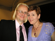Author photo. Mark Ryden and Marion Peck