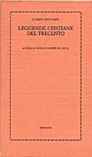 Leggende cristiane del trecento by Giuseppe…