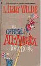 Official All America Joke Book by Larry…
