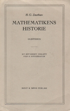 Forelæsning over mathematikens historie :…