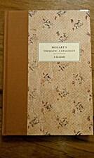 Mozart's Thematic Catalogue: A Facsimile…