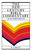 1 And 2 Corinthians: New Century Bible…