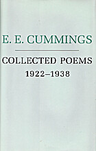 E. E. Cummings, Collected Poems, 1922 - 1938…