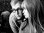 Author photo. Vilgot Sjöman with Lena Nyman during the production of <i>I Am Curious (Yellow)</i>, 1967