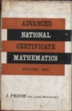 Advanced National Certificate mathematics :…