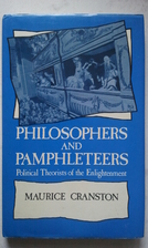 Philosophers and Pamphleteers: Political…