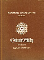 Christian Morgenstern by Sulamith Wulfing