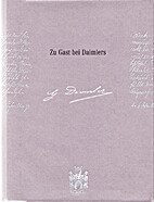 Zu Gast bei Daimlers by Harry Niemann