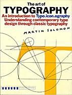 Art of Typography by Martin Solomon