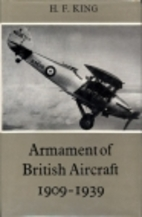Armament of British aircraft, 1909-1939, by…