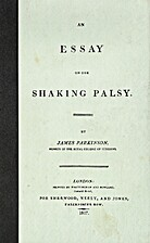 An Essay on the Shaking Palsy by James…