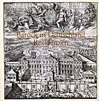 Barock in Deutschland - Residenzen : Katalog…