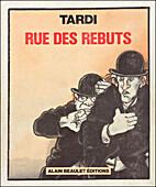 Rue des rebuts by Jacques Tardi