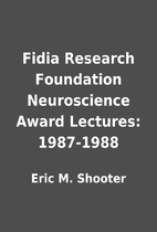 Fidia Research Foundation Neuroscience Award…