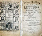 The Familiar Letters of James Howell by…