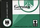 German Grammar Cards: Compact Facts by Ph.D…